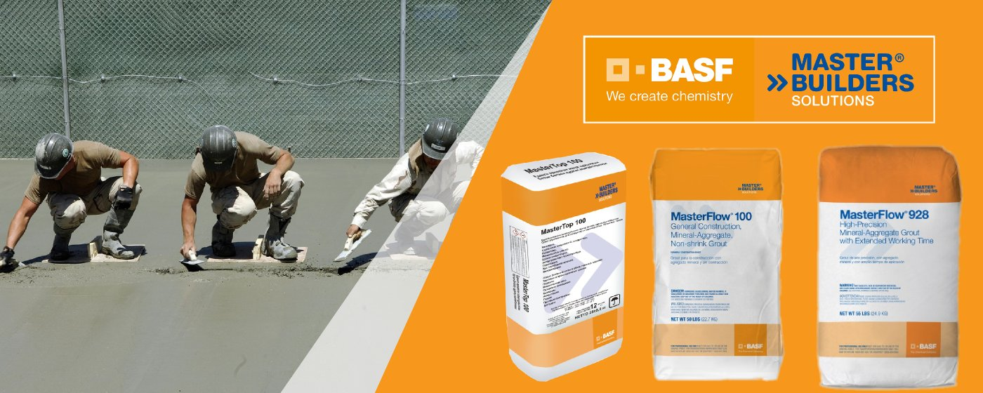 Productos BASF - MASTER BUILDERS SOLUTIONS